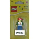LEGO Paris minifig magnet (850760)