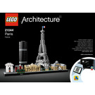 LEGO Paris Set 21044 Instructions
