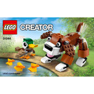 LEGO Park Animals Set 31044 Instructions