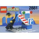 LEGO Parking Gate Attendant Set 2881