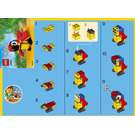 LEGO Parrot Set 30472 Instructions