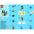 LEGO Parrot Set 40131-1 Instructions