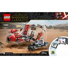 LEGO Pasaana Speeder Chase Set 75250 Instructions