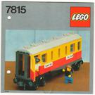 LEGO Passenger Carriage / Sleeper Set 7815 Instructions