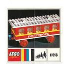 LEGO Passenger Coach Set 123 Instructions