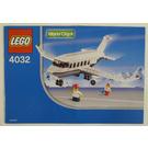 LEGO Passenger Plane Set (LEGO Air) 4032-1 Instructions