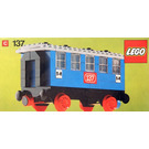 LEGO Passenger sleeping car Set 137-2