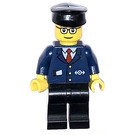 LEGO Passenger Train Conductor Minifigure
