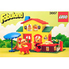 LEGO Pat and Freddy's Shop Set 3667