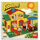 LEGO Pat and Freddy's Shop Set 3667 Instructions
