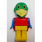 LEGO Patrick Parrot Fabuland Figure