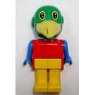 LEGO Patrick Parrot Fabuland Minifigure