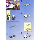 LEGO Patrol Car Set 1247-1 Instructions