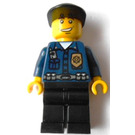 LEGO Patrolman with Golden Badge Minifigure