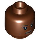 LEGO Patty Tolan Plain Head (Recessed Solid Stud) (3626 / 27430)