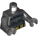 LEGO Pearl Dark Gray Batman Armored Minifig Torso (76382)
