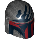 LEGO Pearl Dark Gray Boba Fett Helmet (14499)