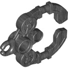 LEGO Pearl Dark Gray Handcuffs with Ø4.85 Hole (98562)