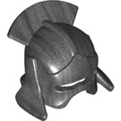 LEGO Pearl Dark Gray Minifigure Figure Helmet (10051)