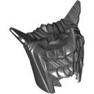 LEGO Pearl Dark Gray Minifigure Figure Helmet (14377)