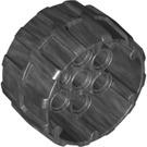 LEGO Pearl Dark Gray Space Wheel Ø37/22 with 4.85 Hole (22410)