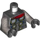 LEGO Pearl Dark Gray Thor Minifig Torso (76382)