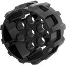 LEGO Pearl Dark Gray Wheel 37 x 22 with Holes (22410)