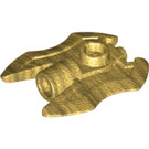 LEGO Pearl Gold Axe with 3.2 Hole (11096)