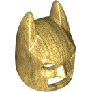 LEGO Pearl Gold Batman Mask with Angular Ears (10113)