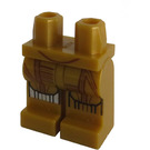 LEGO Pearl Gold C-3PO Minifigure Hips and Legs (18022)