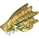LEGO Pearl Gold Creature Head (45136)