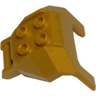 LEGO Pearl Gold Design Brick 4 x 3 x 3 with 3.2 Shaft (27167)