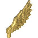 LEGO Pearl Gold Feathered Minifig Wing (11100)