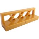 LEGO Pearl Gold Fence Lattice 1 x 4 x 1 (3633)