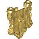 LEGO Pearl Gold Minifigure Shield (22409)