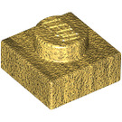 LEGO Pearl Gold Plate 1 x 1 (3024)