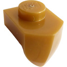 LEGO Pearl Gold Plate 1 x 1 with Tooth (15070)