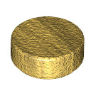 LEGO Pearl Gold Round Tile 1 x 1 (98138)
