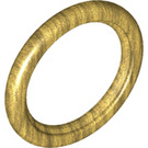 LEGO Pearl Gold Tire for Wedge-Belt Wheel/Pulley (2815)