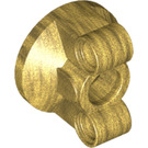 LEGO Pearl Gold Wheel Bearing with Two Pinholes (11950)