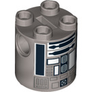 LEGO R2-Q2 Cylinder 2 x 2 x 2 Robot Body (Undetermined) (94273)