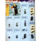 LEGO Penguin Set 11946 Instructions
