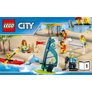 LEGO People Pack - Fun at the Beach Set 60153 Instructions