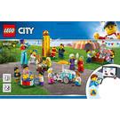 LEGO People Pack - Fun Fair Set 60234 Instructions