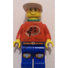 LEGO Pepper Roni Island Xtreme Stunts with neck bracket Minifigure