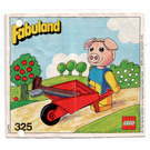 LEGO Percy Pig with his Barrow Set 325-2 Instructions