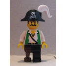 LEGO Perilous Pitfall Pirate Captain Minifigure