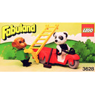 LEGO Perry Panda and Chester Chimp Set 3628