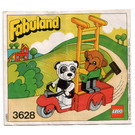 LEGO Perry Panda and Chester Chimp Set 3628 Instructions