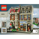 LEGO Pet Shop Set 10218 Instructions